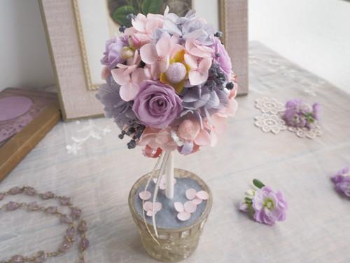 Topiaire de antique pastel*トピアリー*アレンジメント*プリザーブドフラワー*花*結婚祝い*記念日*ギフト