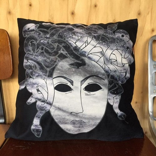 DIEGO / IMPORT SELECT PILLOWCASE // medusa -black-