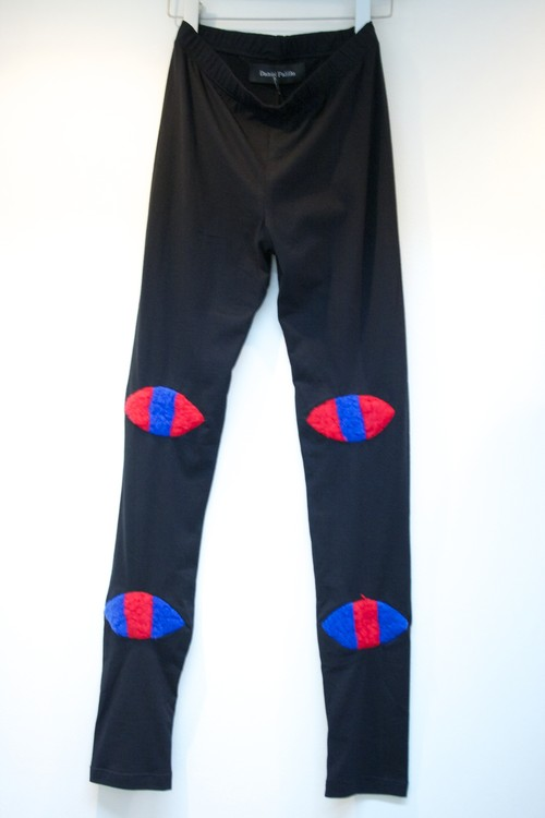 Daniel Palillo EYE LEGGINGS アイ レギンス / BLACK 50%OFF