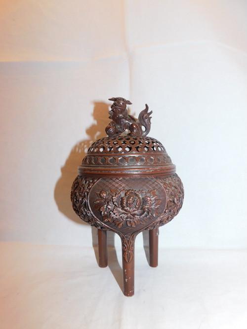 香炉 metal incense burner (No28)