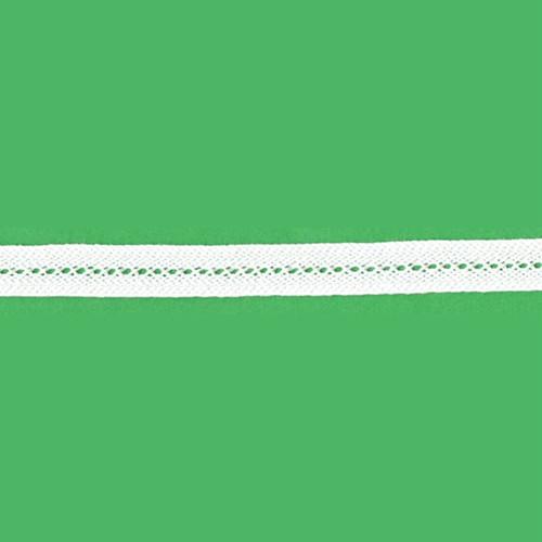 ブレード(綿100%/白/1.1cm幅/厚手/通常用) 5メートル【YBL-BRD-02-5m】