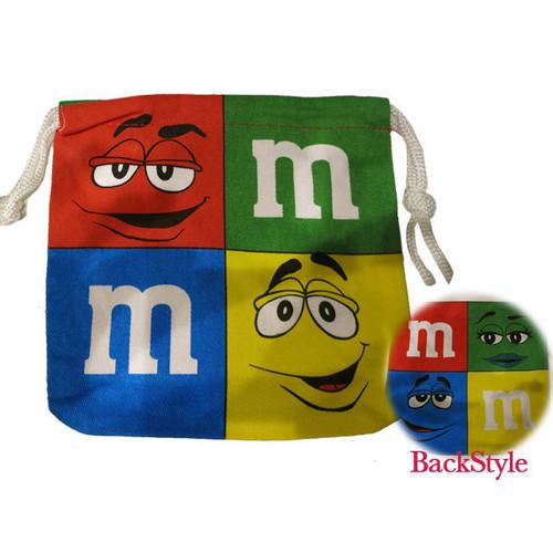 【即納】巾着袋 M&M's アメリカン雑貨 14-0-371