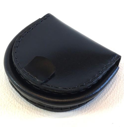 コードバン馬蹄型小銭入れ(ブラック)cp032