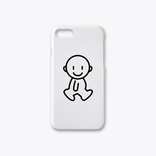 IDEAS/ UNIT-SPEAK-soreiine iPhone7case ホワイト