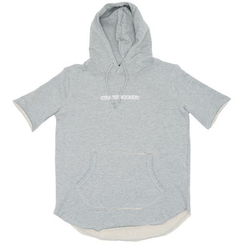 Child of the Street Tシャツパーカー/ Grey