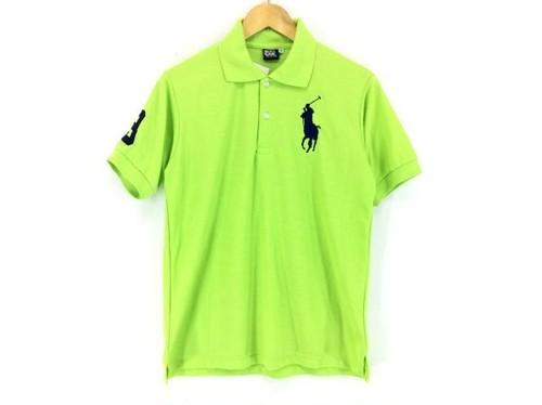 【新品】ラルフローレン ビックボニーナンバリングポロシャツM緑