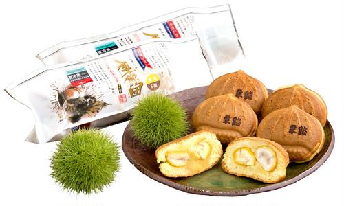栗餡セット(5個入り×2パック/冷凍/化粧箱付)