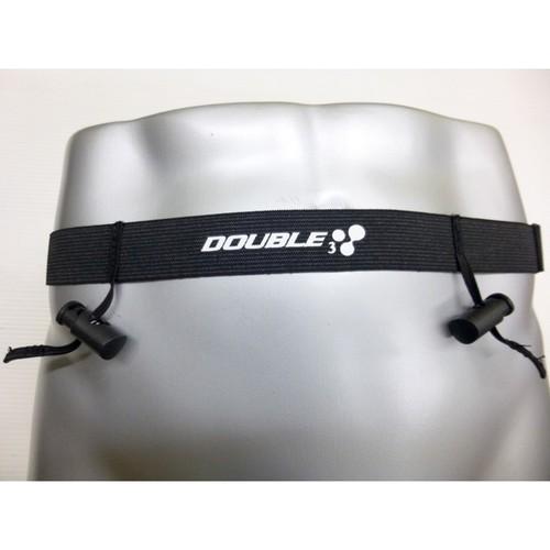 【DOUBLE3(ダブルスリー / ダブル3】DW220 ゼッケンベルトループ付き レースナンバーベルト