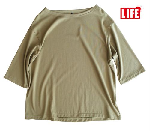 LIFE BOATNECK Tシャツ