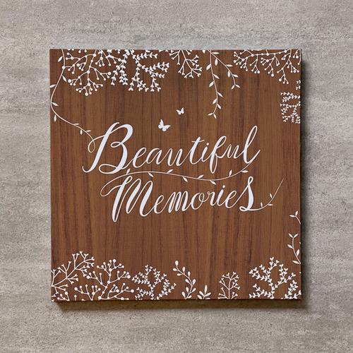 Tree's Board(Brown)-FAMILY_300SQ_20ページ/30カット_スリムフラット