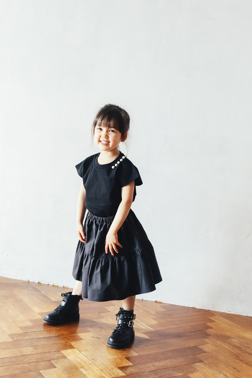 PEARL TEE MINI【IENA ENFANTコラボ商品】