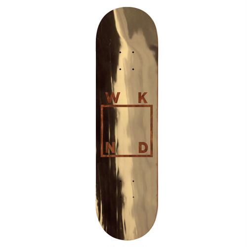 WKND / TEAM GOLD PLATED LOGO / 7.75x31inch (19.7x78.3cm)