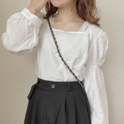 volume design blouse[8/25n-24]