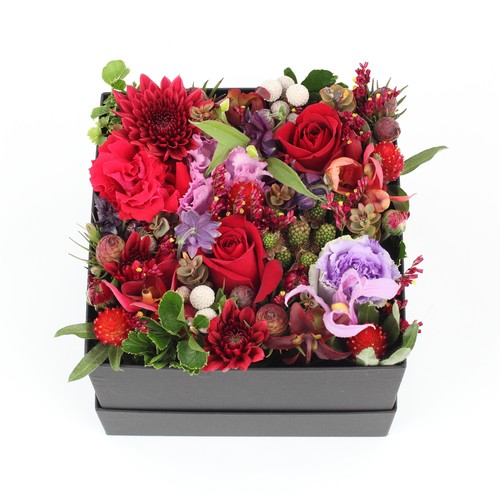 seasonal Box Arrangement(M)red