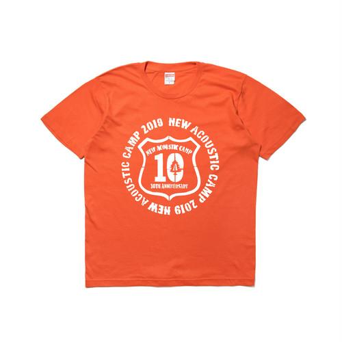 NAC19 N.A.C KIDS tee  / ORANGE