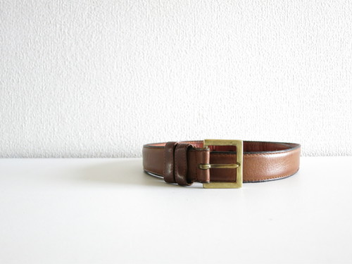 1980's Old Coach Belt Brown