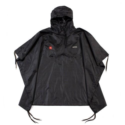 TOYOTA Rain Coat - Black