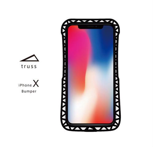 プレミアム  iPhone X バンパー『truss』