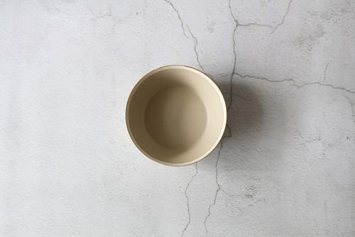 木村硝子×イイホシユミコ【Yumiko Iihoshi porcelain】 18.5cmボウル dishes 185 bowl L (sand beige) /matte