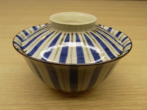 清水焼 蓋付き多様碗 仁清十草 単品