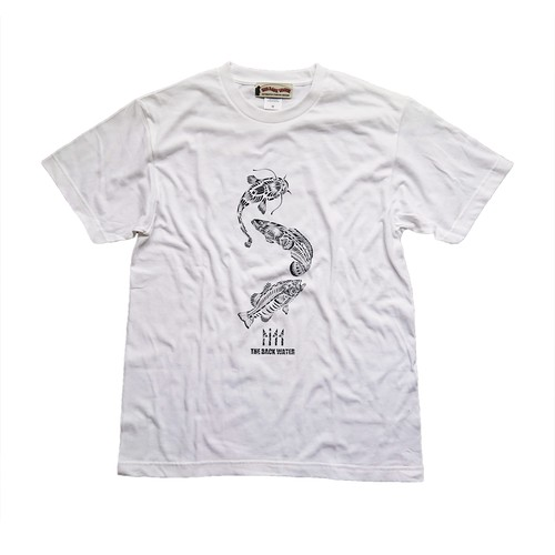 新商品!!FISH T SHIRTS BW-710 WHITE