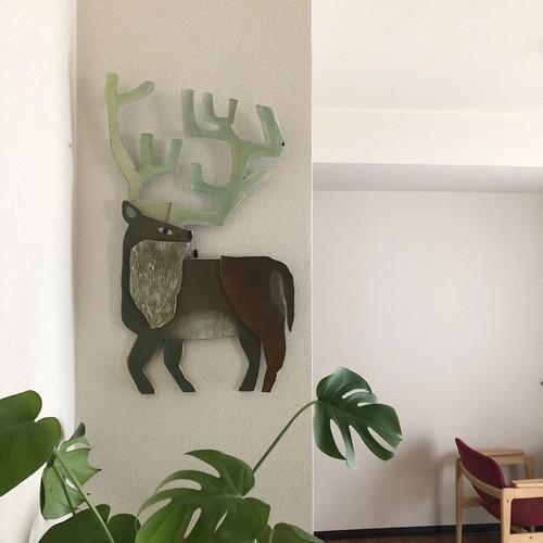 Deer craft art
