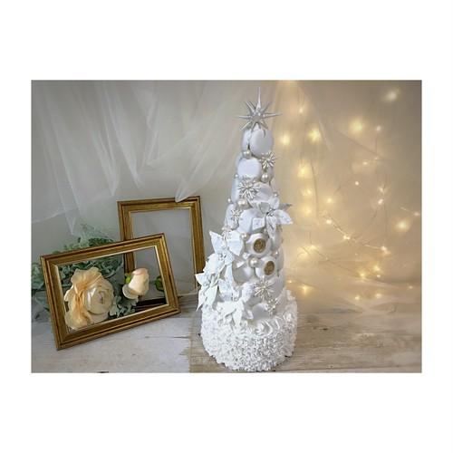 ホワイトクリスマスマカロンタワー
