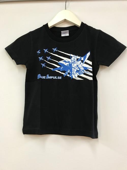キッズTシャツ ブルーインパルス【黒色】