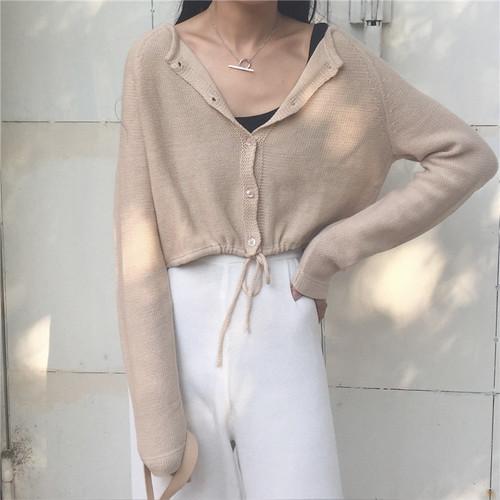 ♡thin short cardigan 2787