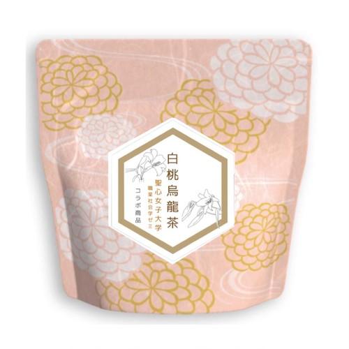 白桃烏龍茶(ピンク×白) 5個入りパック