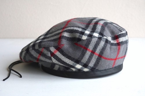 [BERET] Nova Check (dark gray)