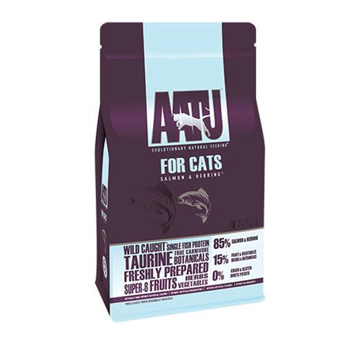 AATU アートゥー キャット 85/15 サーモン&ニシン(総合栄養食)1kg(送料無料)