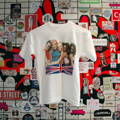 "90s SPICE GIRLS T-shirt ""made in UK"""