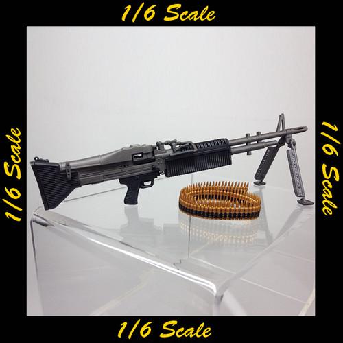 【00800】 1/6 ホットトイズ サコー M60 軽機関銃