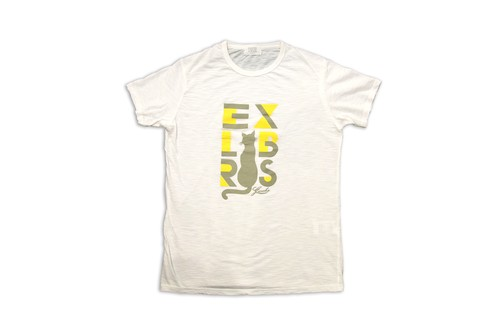 GAUCHO capa designed by masa-sculp tee for men neko/white 454-457