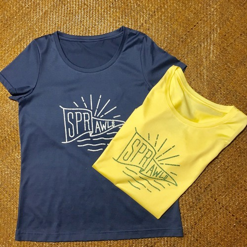 ★SALE*SPRAWLS*Flag Print 半袖Tシャツ(Ladies)