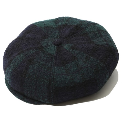WOOL CASQUETTE (GREEN) / RUDE GALLERY
