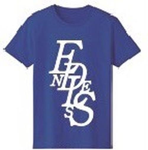 ENDLESS Tシャツ 青(L)
