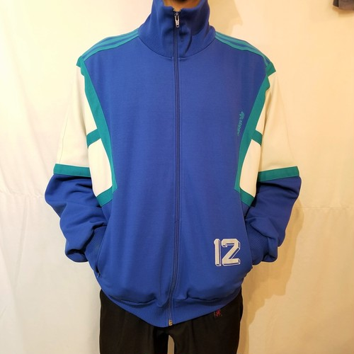 80's Vintage adidas jacket /Made In Hungary [G-316]
