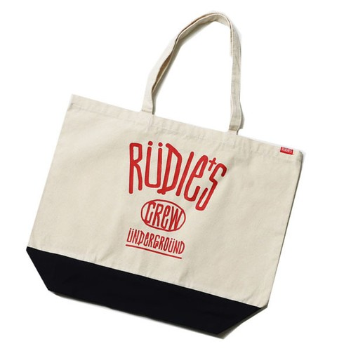 RUDIE'S / ルーディーズ | DRAWING TOTE BAG - Natural x Navy