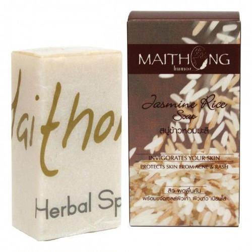 マイ・トーン ジャスミンライス石鹸 / Maithong Jasmine Rice Soap 100g