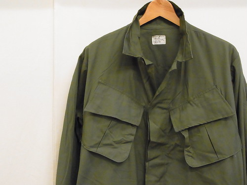US ARMY/JUNGLE FATIGUE JACKET/3rd/S-L(DEADSTOCK)