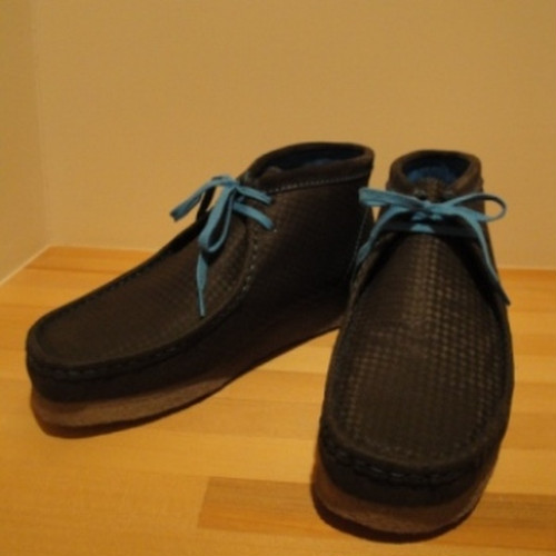 Clarks / クラークス | Wallabee Boot - Charcol Leather