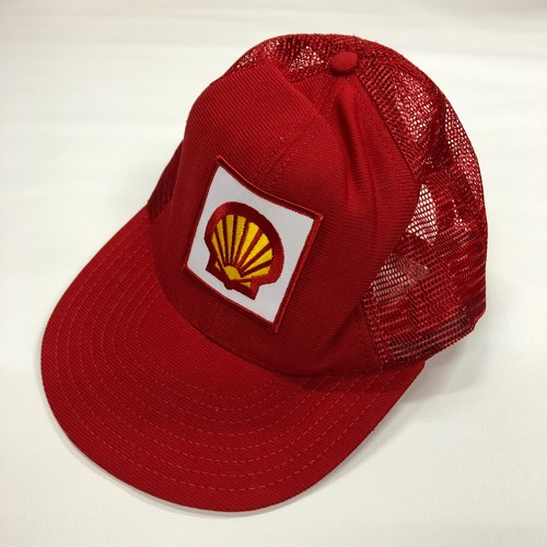 SHELL Vintage Mesh Cap MADE IN USA ビンテージ メッシュキャップ