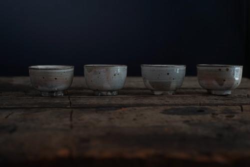 井上 茂 / 粉引湯呑み