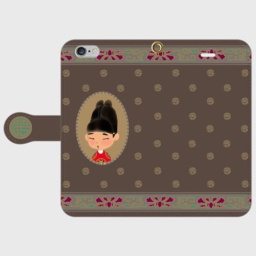 iphoneスマホケース「オリエンタルモノグラム」