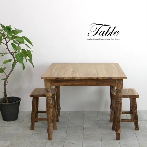 ■送料無料■囲みたくなる!正方形のテーブル 90×90 ダイニングテーブル 2人掛け 4人掛け