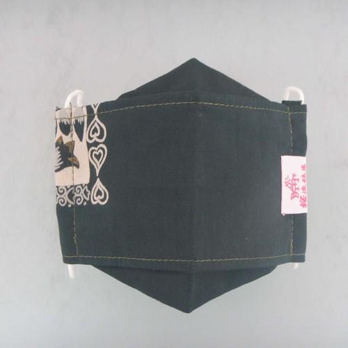 桜流鏑馬ファッションマスク(折り返し立体タイプ)[081]