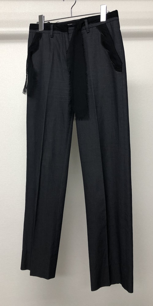 SS2006 MARTIN MARGIELA PATCH WORK TROUSERS