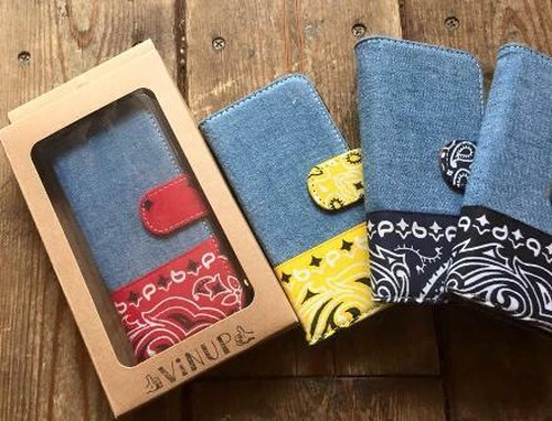 iPhone Case 6/6s&8, Chambray x Bandanna